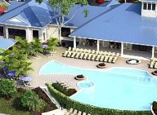 Del Webb Wilmington rendering of pool area