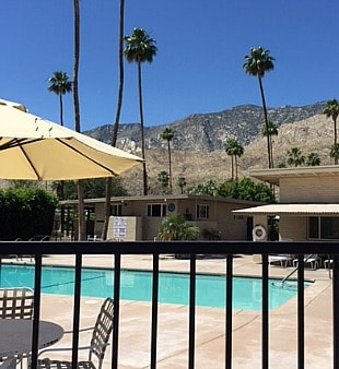Sahara Park Pool With Mountain View