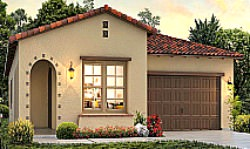 La Floresta model home Brea, Ca.