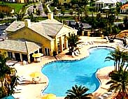 retirement community clubhouse and pool
