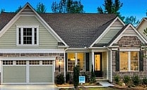 Cresswind Peachtree City model home by Kolter Homes.