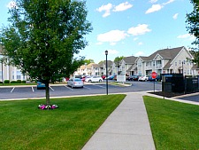Brook view Commons street scene