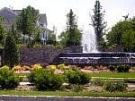 Encore Lake Grove entry fountain on Long Island NY