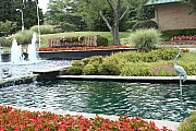 Leisure World Maryland entry fountain