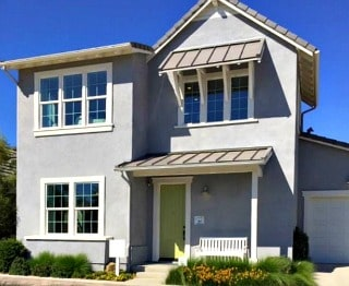Rancho Mission Viejo Vida Neighborhood model home plan 1X