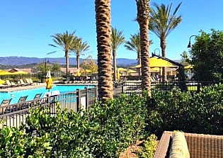 The pool near The Hilltop Club in Rancho Mission Viejo