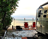 RV in Florida beach campground