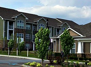 The Reserve at the Boulevard apartments and clubhouse in Yaphank