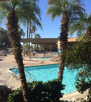 Client Springs Resort pool and spas