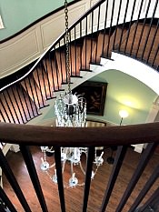 historic home staircase Charleston SC