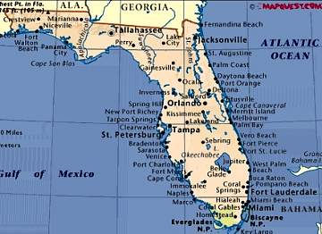 Map Of Florida Panhandle Gulf Coast Beaches My Blog - Map of florida west coast