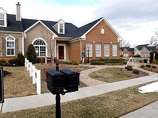 Greenview model home