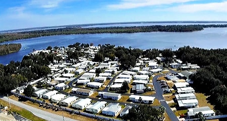 Harbor Oaks manufactured homes park in Florida - resident-owned co-op park for 55+