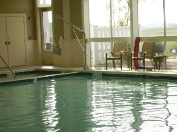 heritage shores indoor pool