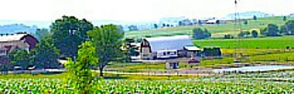 Amish farm in Lancaster County