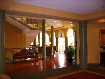 interior view of clubhouse