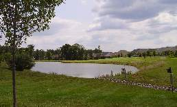 small lake at Heritage Hunt Golf and Country Club