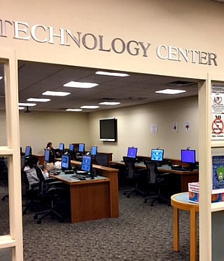 library Technology Center room