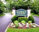 Saddle Lakes entry sign