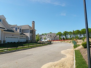 Vineyards at Moriches construction site