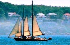 sailboat in Maine