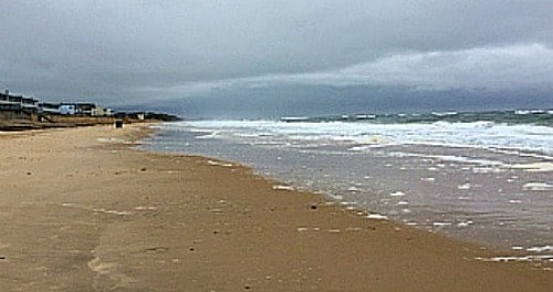 beach at Montauk, Long Island, NY