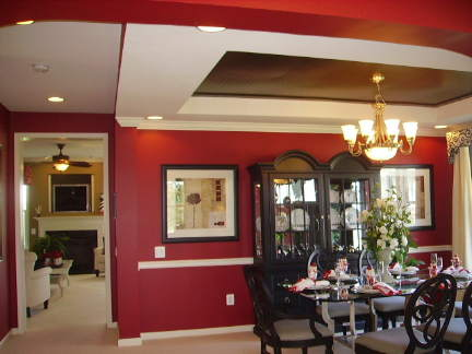 Newlyn model home dining room