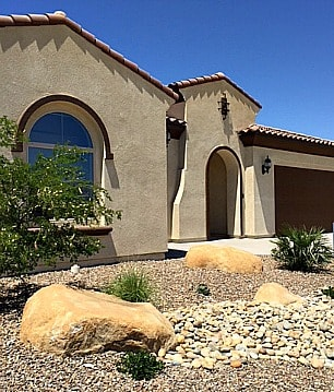 Del Webb at Rancho Mirage Journey model home in the Encore Series