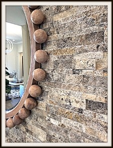Wall tiles in Journey model home in Del Webb at Rancho Mirage