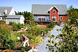 Red Mill meeting house and community garden