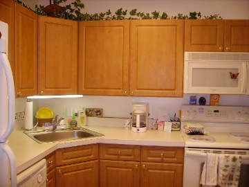 Riderwood Maryland apartment kitchen