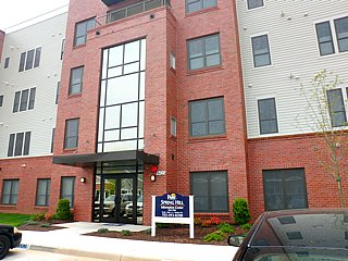 Spring Hill condos contemporary building