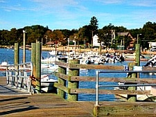 Stony Creek Harbor dock