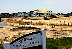 Traditions of America building site.