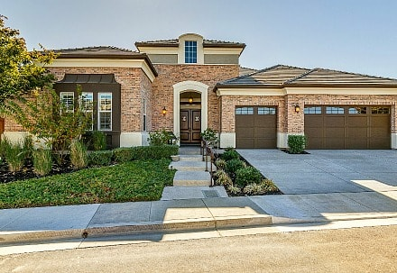 Trilogy® at the Vineyards 55+ community model home