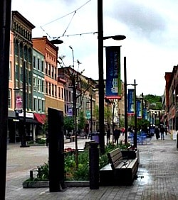 Ithaca downtown
