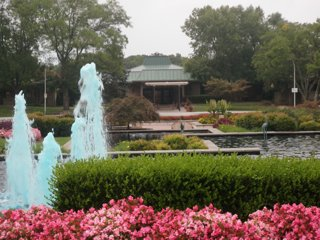 Leisure World fountain