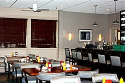 restaurant and bar area at Leisure World Md