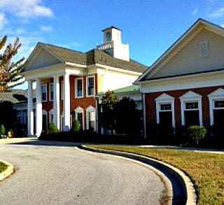 Colonial Charles 55+ community clubhouse