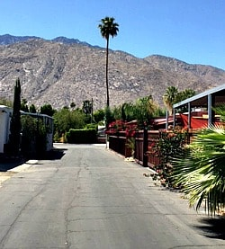 Ramon Mobile Home Park In Palm Springs