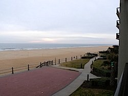 Virginia beach beach view