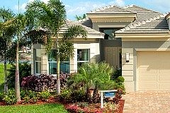 Valencia Bonita model home at Bonita Springs Fl