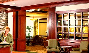 Edgehill Assisted Living lobby