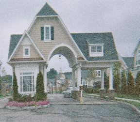 Encore Lake Grove gated entry