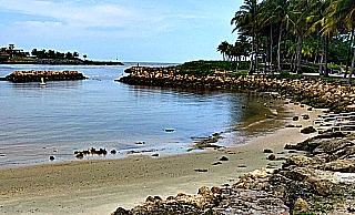 Palm Beach County beach cove