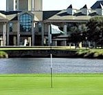 golf tee at master planned community