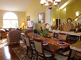 Greenview model dining room