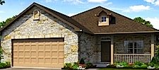 Heritage Oaks model home by Jimmy Jacobs in Texas