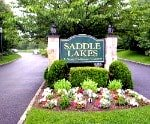 Saddle Lakes entrance on Riverhead Long Island
