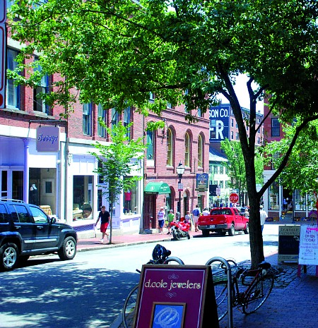downtown Portland Maine